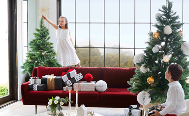 A merry Christmas home fit for royalty