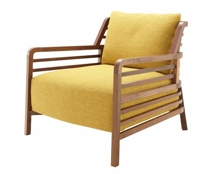"""Ligne Roset Flax Armchair, from $5125, [Domo](http://domo.com.au/