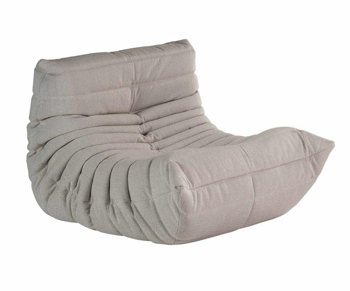 "Ligne Roset Togo Fireside Chair, from $3175, [Domo](http://domo.com.au/|target=""_blank""|rel=""nofollow"")."