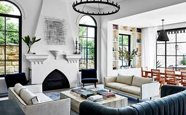 A 1920s Mediterranean-style villa restored to its former glory