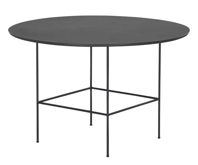 "Malmo outdoor dining table, $1595, [Coco Republic](https://www.cocorepublic.com.au/|target=""_blank""