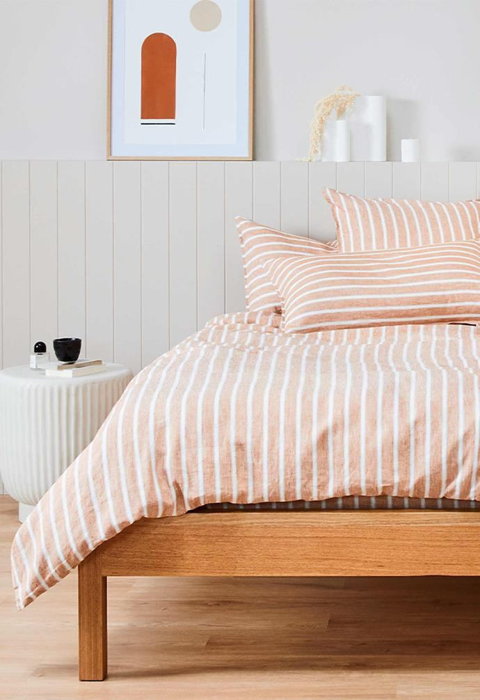 "**THE SHEET SOCIETY**<br><br>There's no greater way to give your bedroom a complete refresh than with a fresh set of bedding, so online bedlinen destination [The Sheet Society](https://www.thesheetsociety.com.au/|target=""_blank""