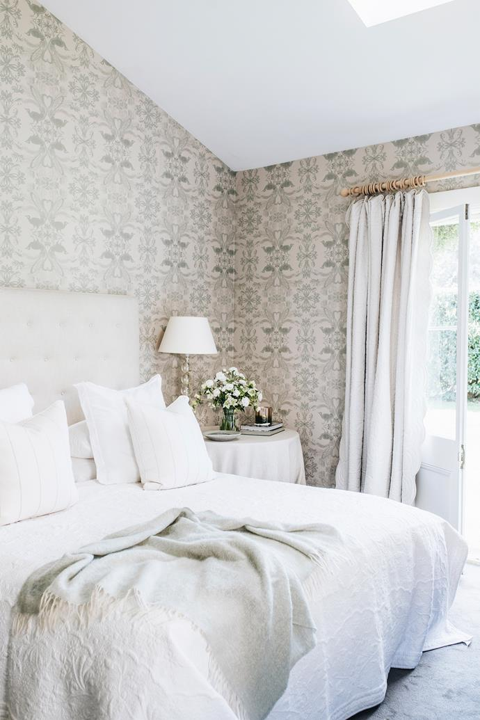 """The house invites relaxation, says Melissa. """"The secret is these huge tranquil rooms that are easy to live in and maintain."""""""