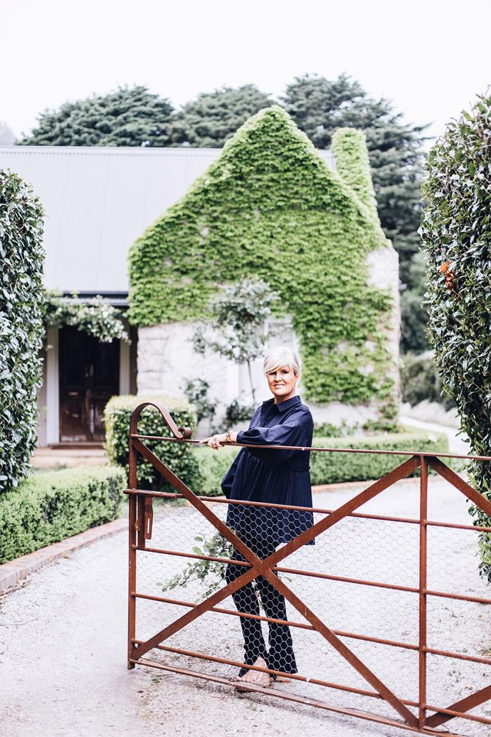 """""""From every room there's a view of endless hedges, lawn and sky-gazine out is like a fairytale,"""" says Melissa."""