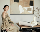 The chic abode of AJP Studio's contemporary artist