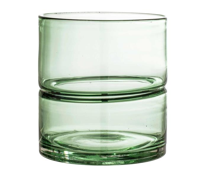 """Doiy 'Koifish' stackable glasses in Mint, $120 for four, [Top3 By Design](https://top3.com.au/