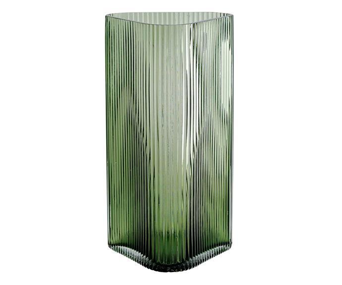 "Profile vase in Green, $49, [Marmoset Found](https://marmosetfound.com.au/|target=""_blank""|rel=""nofollow"")."