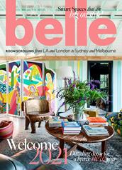 Belle magazine cover