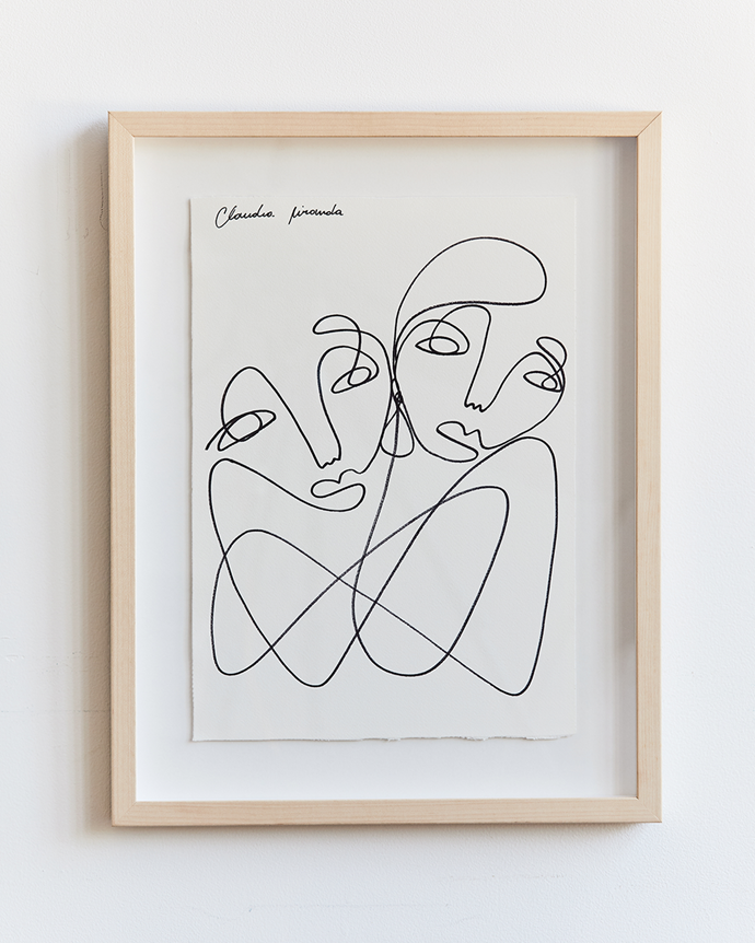 """Claudia Miranda x Bed Threads 'True Connection' Print, $80, [Bed Threads](https://bedthreads.com.au/products/claudia-miranda-x-bed-threads-true-connection-print?_pos=3&_sid=92c23b106&_ss=r