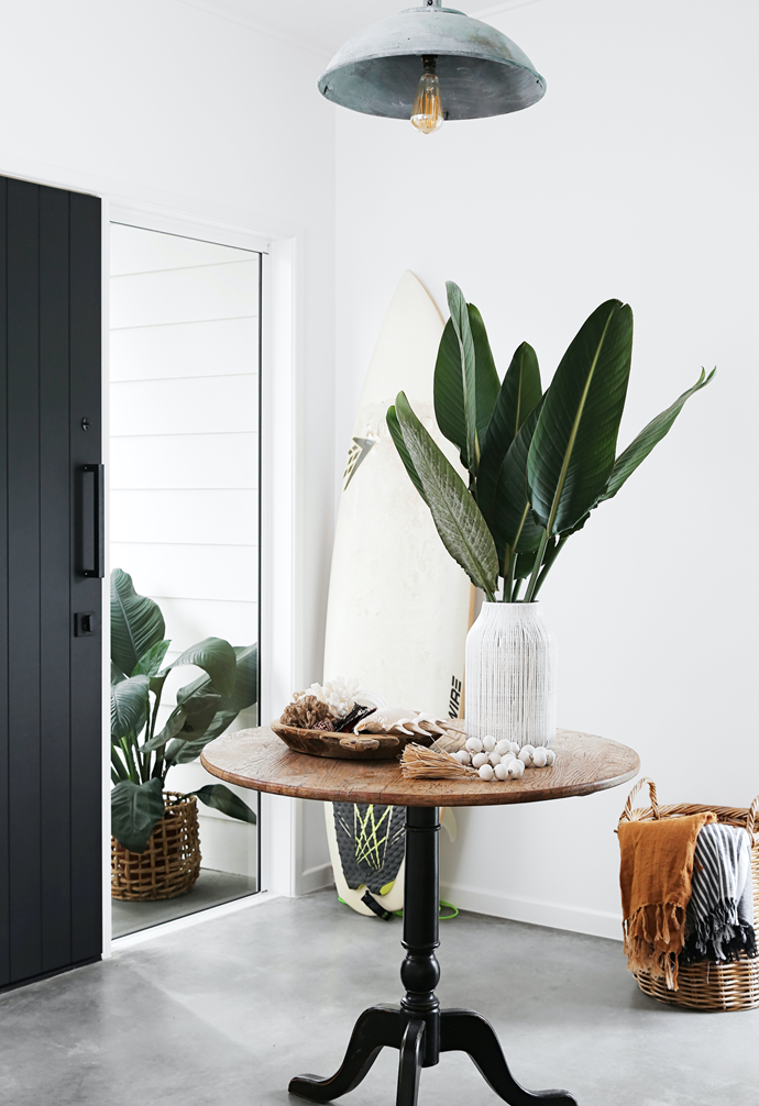 """The new extension features matt finished c[oncrete floors](https://www.homestolove.com.au/concrete-floors-19778