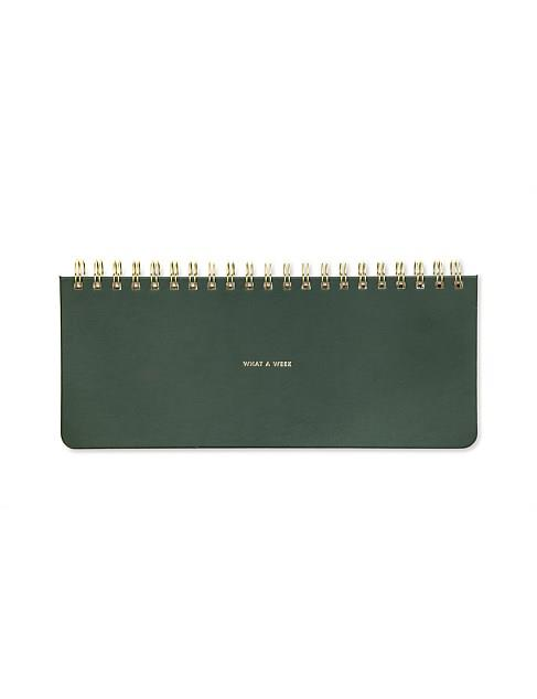 """Kate Spade New York, Weekly List Pad, What a Week, $29.95, [David Jones](https://www.davidjones.com/home-and-food/furniture-and-d%C3%A9cor/stationery/diaries-and-planners/22941356/WEEKLY-LIST-PAD,-WHAT-A-WEEK.html target=""""_blank"""" rel=""""nofollow"""")"""