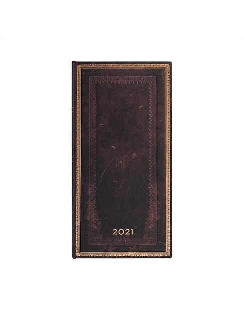 "Paperblanks 2021 Black Moroccan, slim diary, $25.95, [David Jones](https://www.davidjones.com/home-and-food/furniture-and-d%C3%A9cor/stationery/diaries-and-planners/23513296/2021-Black-Moroccan,-Slim,-HOR.html target=""_blank"" rel=""nofollow"")"