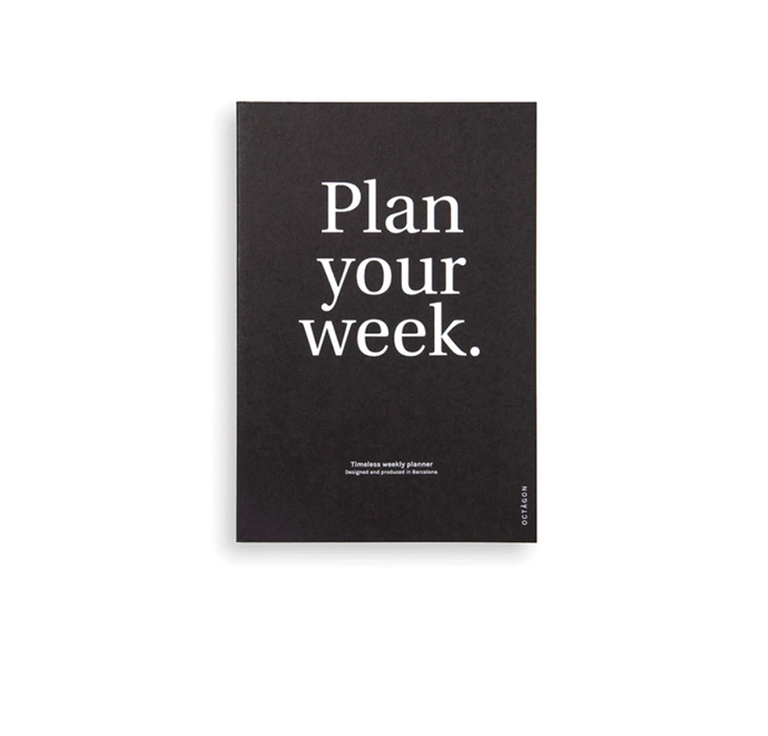 """Octagon Plan Your Week Planner, $34.95, [Milligram](https://milligram.com/collections/all/products/octagon-plan-your-week-planner target=""""_blank"""" rel=""""nofollow"""")"""