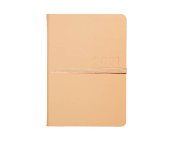 "2021 A5 Bonded Leather Weekly Diary in Birch, $39.99, [kikki K](https://www.kikki-k.com/au/diaries-and-calendars/2021-diaries-and-calendars/2021-a5-bonded-leather-weekly-diary-birch-11309601.html?cgid=diaries-2021_diaries_calendars#icid=WK282021%3BHP3%3BDated2021&start=4 target=""_blank"" rel=""nofollow"")"