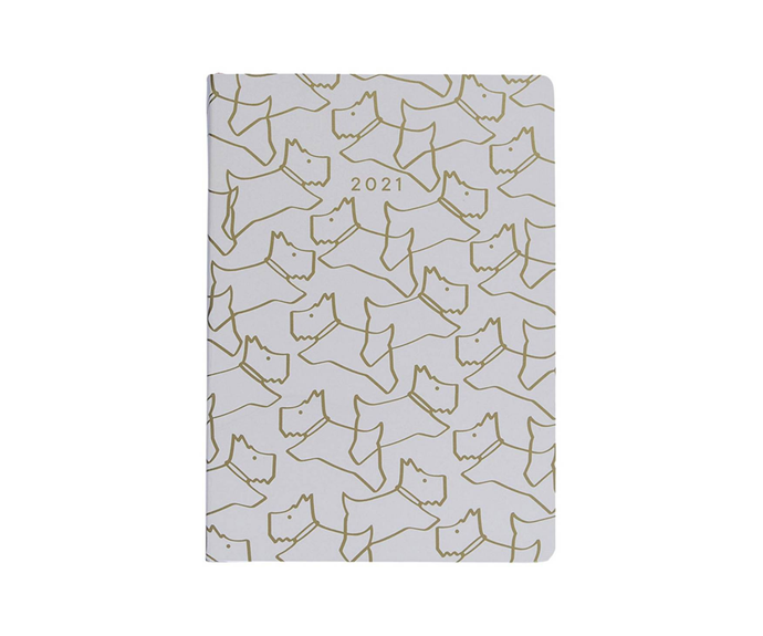 "Radley Iconic A6 Diary, $34.95, [Myer](https://www.myer.com.au/p/radley-iconic-radley-a6-diary target=""_blank"" rel=""nofollow"")"