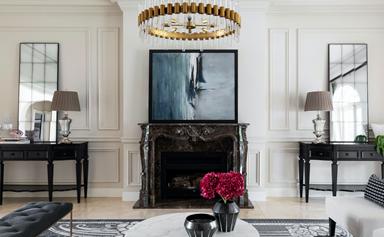 An interior designer's impeccable family home on Sydney's North Shore
