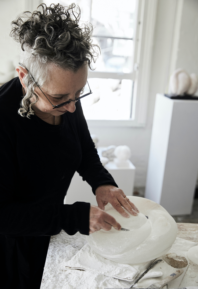 """I'm still amazed and touched each time I sell a sculpture. Each one is a part of me - it's heartening and reaffirming in many ways."""" ~ Carol."""