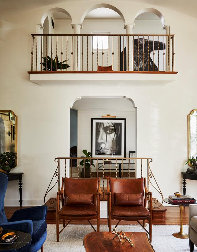 """Australian designer and photographer James Houston and his Scottish husband Brian McGrory amped up the 1920s Spanish colonial style in their [Hollywood Hills home](https://www.homestolove.com.au/1920s-spanish-colonial-style-home-los-angeles-22151