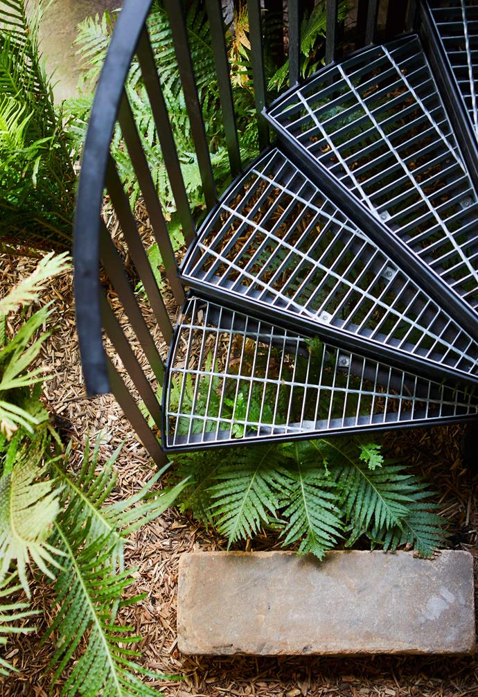 """**Staircase** An external steel spiral staircase by [All Metal Design](http://www.allmetalprojects.com.au/