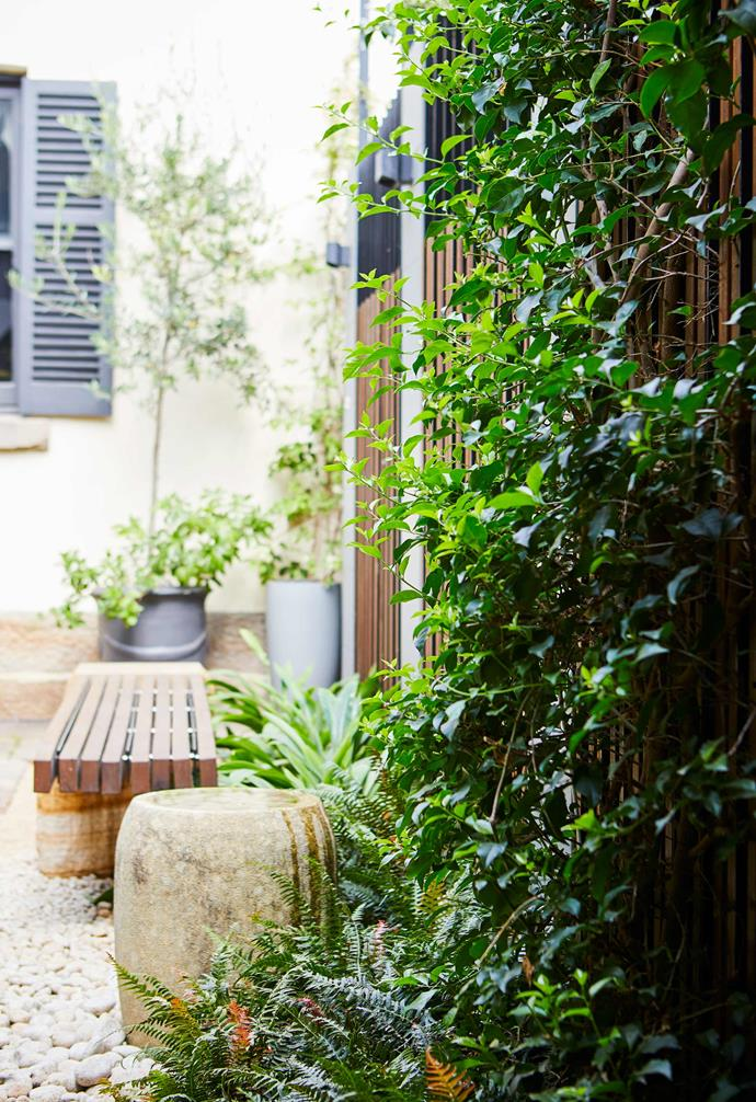 """**Water feature** A water feature from [Gather Co](https://gatherco.com.au/