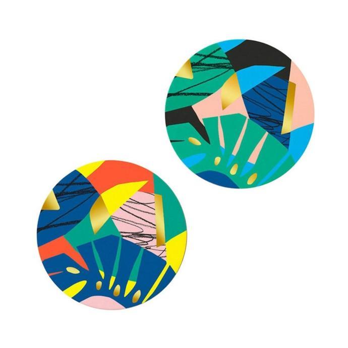 "Octaevo Capri coasters, $29.99/set of 12, [Myer](https://www.myer.com.au/p/octaevo-coasters-set-of-12-capri?|target=""_blank""|rel=""nofollow"")"