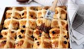 An easy hot cross bun recipe to make with the kids