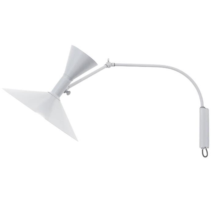 "Nemo Lighting 'Lamp de Marseille' wall light in White, $796 for mini, [Finnish Design Shop.](https://www.finnishdesignshop.com/lighting-wall-lamps-lampe-marseille-mini-wall-lamp-white-p-16867.html target=""_blank"" rel=""nofollow"")"