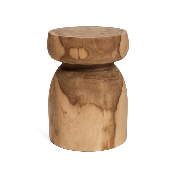"""Stump Tree stool, $395, [Harpers Project.](https://www.harpersproject.com/products/stump-tree-stool?variant=19729699897398&gclid=CjwKCAiAgJWABhArEiwAmNVTBxbAalRxdNTiEr0VFQ9YpWVmH7hKDH2CcQwq-F7HZKoDZPbxuPDBrBoCcCQQAvD_BwE target=""""_blank"""" rel=""""nofollow"""")"""