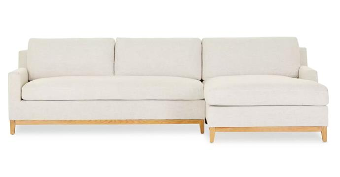 """**Cove Chaise Sofa Bed, $2799, [Lounge Lovers](https://www.loungelovers.com.au/cove-chaise-sofa-bed-beige-right