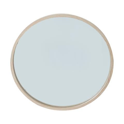 "Oak Look Round Mirror, $40, [Kmart](https://www.kmart.com.au/product/oak-look-round-mirror/3404801|target=""_blank""|rel=""nofollow"")"