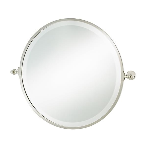 """Hawthorn Hill round tilting bathroom mirror with metal frame, POA, [The English Tapware Company](https://www.englishtapware.com.au/products/HH-MIRRORROUND/