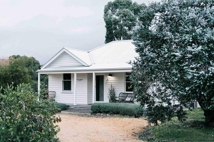 Salt Creek Cottage in Dunkeld, VIC is nicknamed 'Salty'.