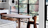 How to create a casual and cool dining area