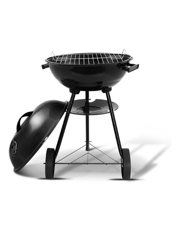 "Grillz from MyPlaza Charcoal Bbq Smoker, $78.95, [Myer](https://www.myer.com.au/p/grillz-grillz-charcoal-bbq-smoker-drill-outdor-camping-patio-wod-barbeque-stel-oven|target=""_blank""