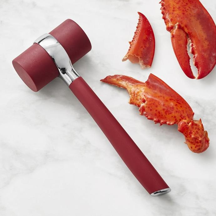 "Seafood Lobster Mallet, $40, [Williams Sonoma](https://www.williams-sonoma.com.au/williams-sonoma-seafood-lobster-mallet|target=""_blank""