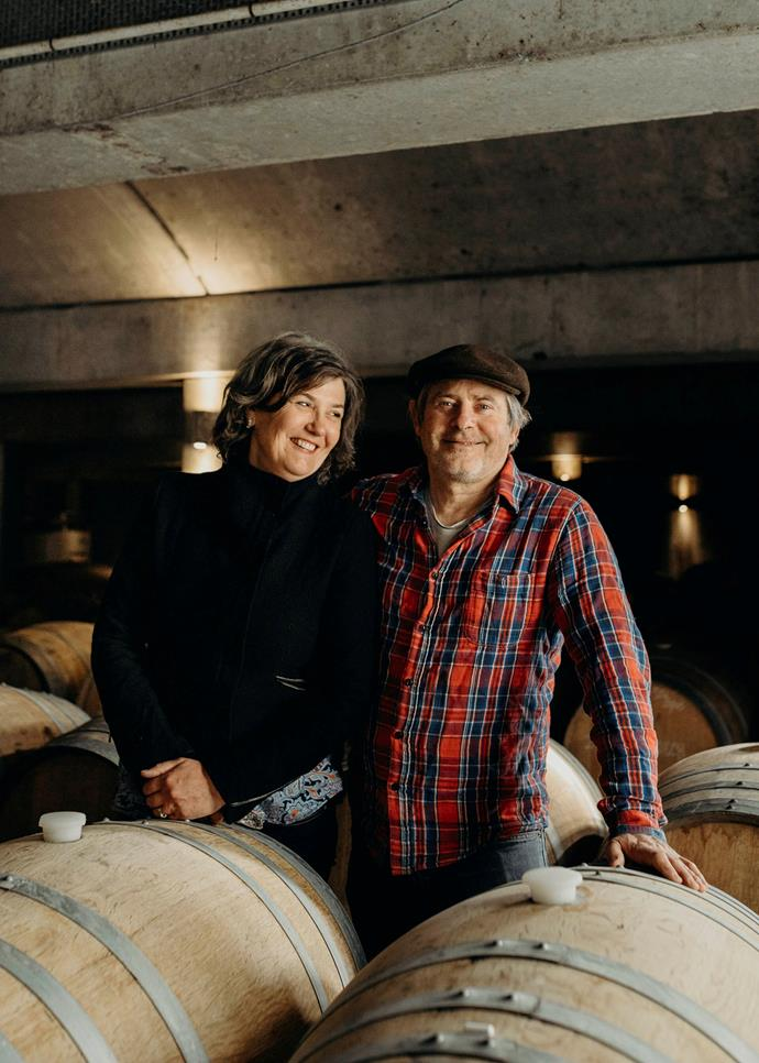 Steve and Monique Lubiano of Stefano Lubiano Wines.
