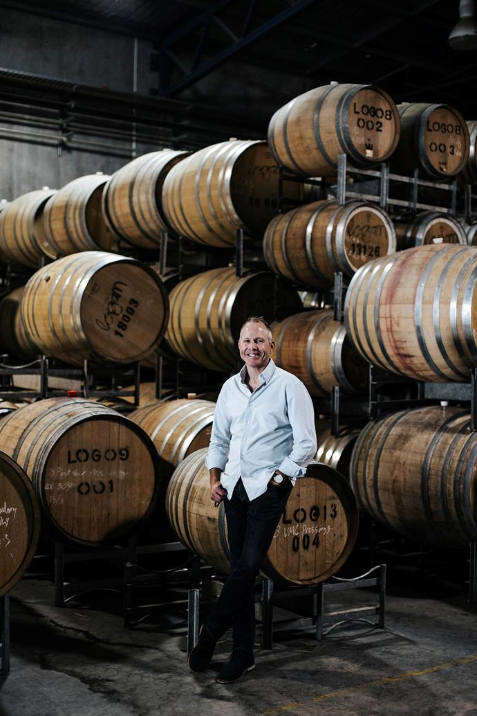 """It's nice to be a small part of the good times shared by so many people,"" says winemaker Peter Logan."
