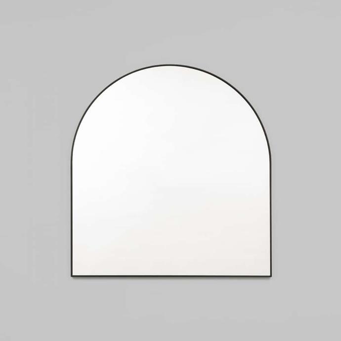"Middle of Nowhere Bjorn Arch Mirror Black, $356, [RJ Living](https://www.rjliving.com.au/buy-bjorn-arch-mirror-black.html?gclid=Cj0KCQiAmL-ABhDFARIsAKywVacuUvMRA2ANlvNZMuJFpS4K_v4NePQl3vRSuRvmz0ArjKQIvaVP8QAaAvcxEALw_wcB|target=""_blank""|rel=""nofollow"")"