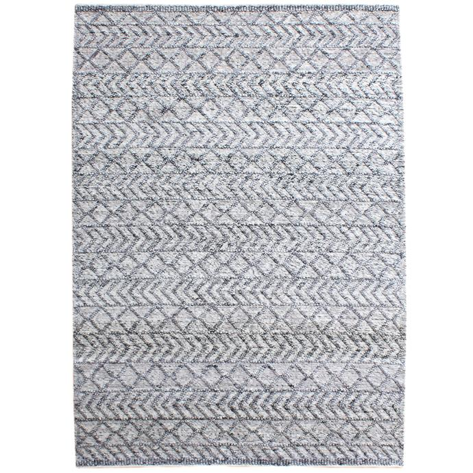 """Grey Maddox Hand-Woven Indoor/Outdoor Rug, $499, [Temple & Webster](https://www.templeandwebster.com.au/Grey-Maddox-Hand-Woven-Indoor-Outdoor-Rug-TMPL1625.html