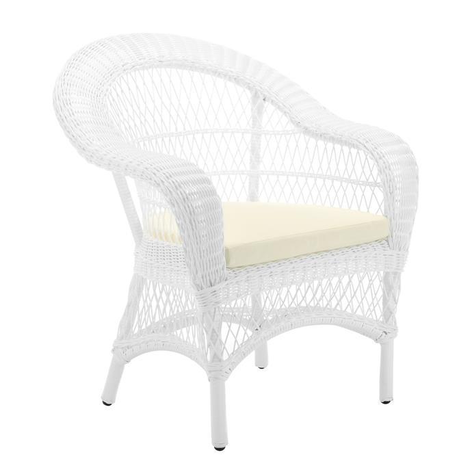 "Classic Raffles Outdoor PE Rattan Armchair, $399, [Temple & Webster](https://www.templeandwebster.com.au/Classic-Raffles-Outdoor-PE-Rattan-Armchair-ZJRACNTR-TMPL1140.html|target=""_blank""|rel=""nofollow"")"