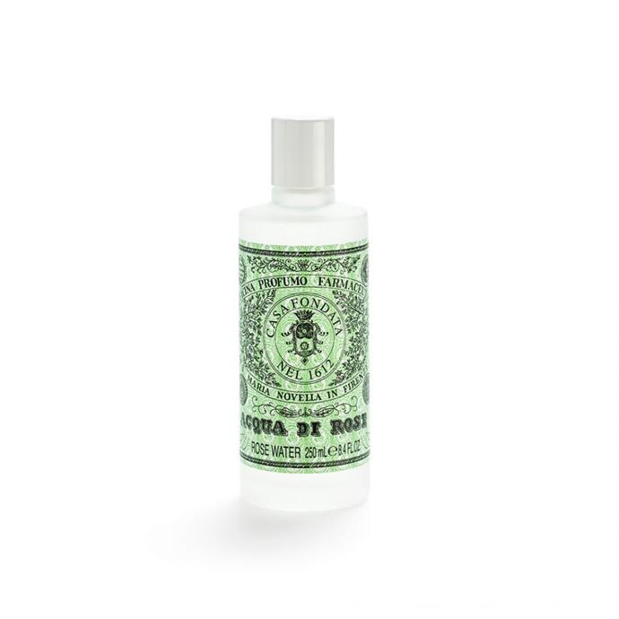 """Santa Maria Novella Rosa Water EDC 250ml, $48, [Santa Maria Novella](https://buy.smnovella.com.au/7011690.html target=""""_blank"""" rel=""""nofollow"""") <br><br> They say that scents are the carriers of memory so why not give them an exquisite fragrance that will remind them of the good times. This Santa Maria Novella  scent is a timeless gift that will never go out of fashion."""