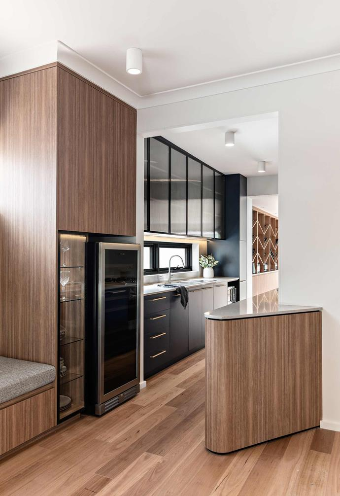 """**Kitchen** The new and improved kitchen includes a [Vintec](https://www.vintec.com/en-au/
