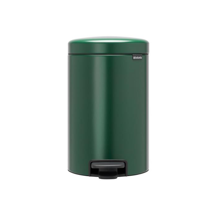 """Brabantia's newIcon collection features functional and iconic pedal waste bins in a wide range of colourways and sizes. Made in Berlin and from 40% recycled material, this waste bin comes with a silently opening and odour-free pedal lid, removable inner container and non-slip base. Prices start from $53.80 for 3L. [Finnish Design Shop](https://www.finnishdesignshop.com/housekeeping-waste-bins-newicon-pedal-bin-pine-green-p-29024-1055.html