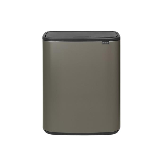 """The Bo Touch Bin combines beautiful design with plenty of capacity (60L). It boasts a soft-touch opening and closing feature and a sleek design with a large opening to enable easy waste disposal without spillage. $375, [LivingStyles](https://www.livingstyles.com.au/brabantia-bo-touch-waste-bin-60-litre-platinum/