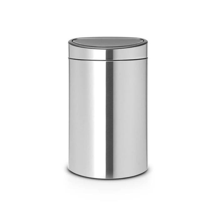 """Stainless steel bins can look good, but they are prone to having lots of fingerprints on them. Cue the Brabantia Fingerprint Proof Touch Bin Matt Steel 40L, which is great for family households. The lid is also completely removable for convenient cleaning and changing the bin liners. $315, [Matt Blatt](https://www.mattblatt.com.au/mb/buy/everten-brabantia-touch-bin-fingerprint-proof-matt-steel-40l-42233/