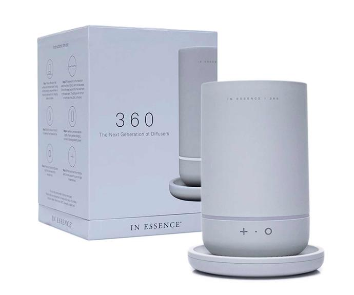 "**In Essence 360 Diffuser in Whisper, $199.95, [Myer](https://www.myer.com.au/p/in-essence-360-diffuser-whisper|target=""_blank""