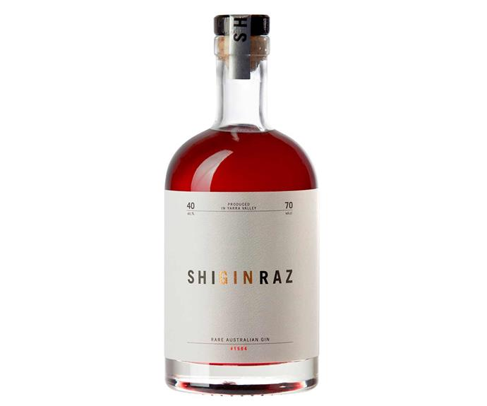 "**Shiraz Gin, $92, [Rochford Wines](https://www.rochfordwines.com.au/ProductDetail.aspx?pid=100062106/|target=""_blank""
