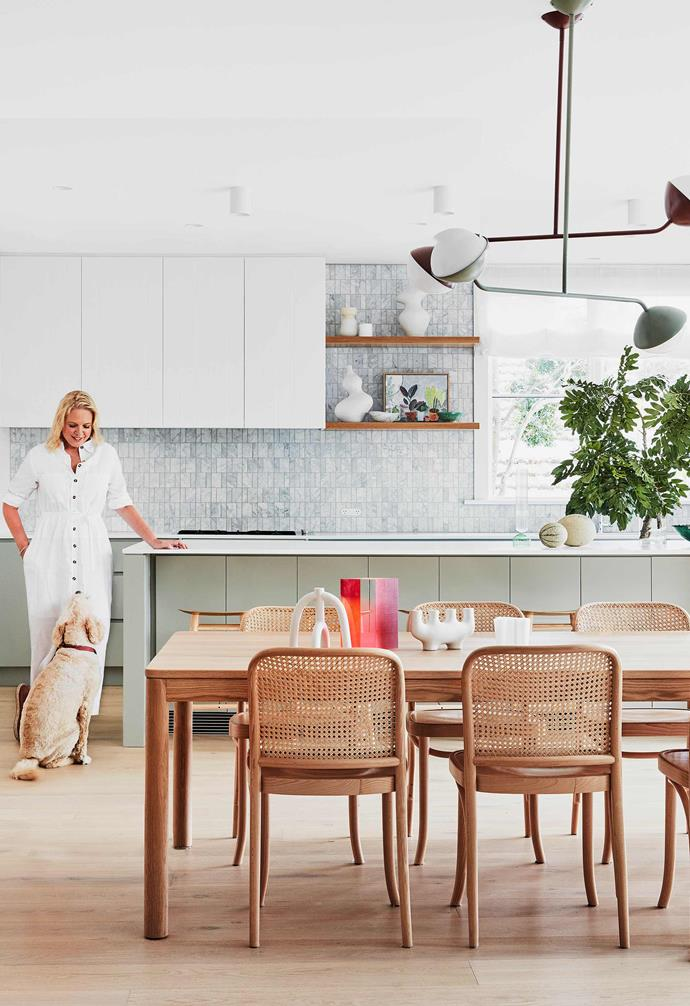 **Home sweet home** With the help of a team of experts and her own design knowledge, former editor of *Inside Out* Victoria undertook an extensive renovation of her century-old Californian bungalow.