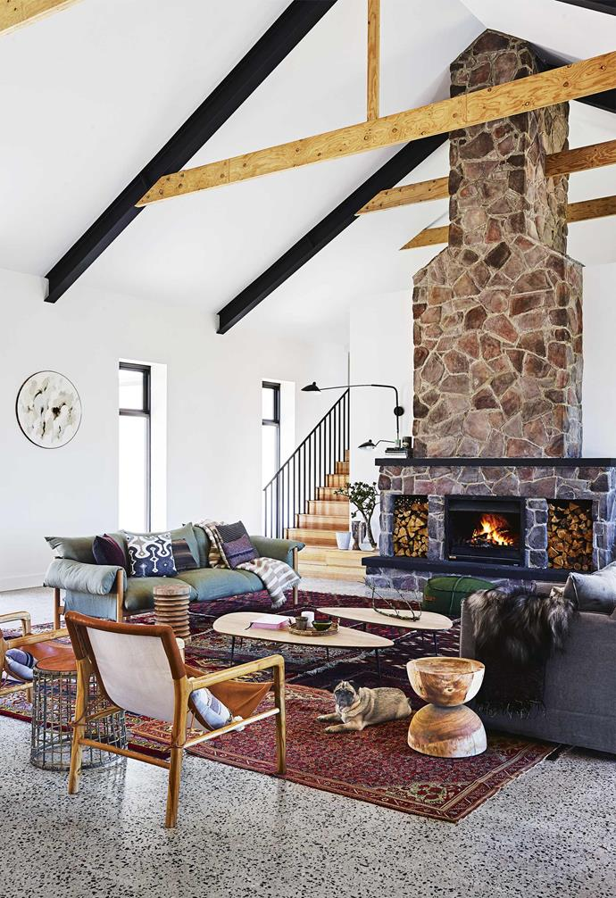 """In the creation of his family's dream [country farmhouse](https://www.homestolove.com.au/country-farmhouse-17468