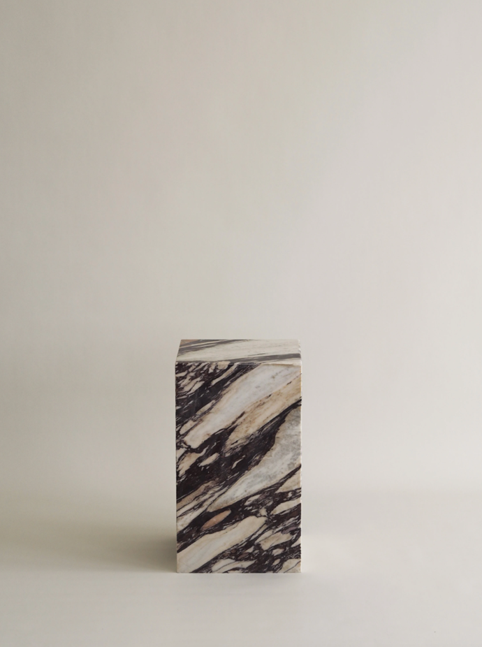 """Marble Plinth Side Table, $1,199, [Harpers Project](https://www.harpersproject.com/collections/all/products/marble-plinth-side-table target=""""_blank"""" rel=""""nofollow"""") <br><br> If interiors are where your loved one's heart truly lies, these plinths will be the statement piece that will work in any corner of the house. Crafted from Calcutta viola marble, Harper's Project's side table is an elegant and crisp gift that's bang on trend."""